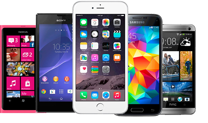 Business Mobiles - Apple, Samsung, HTC - iOS, Android, Windows